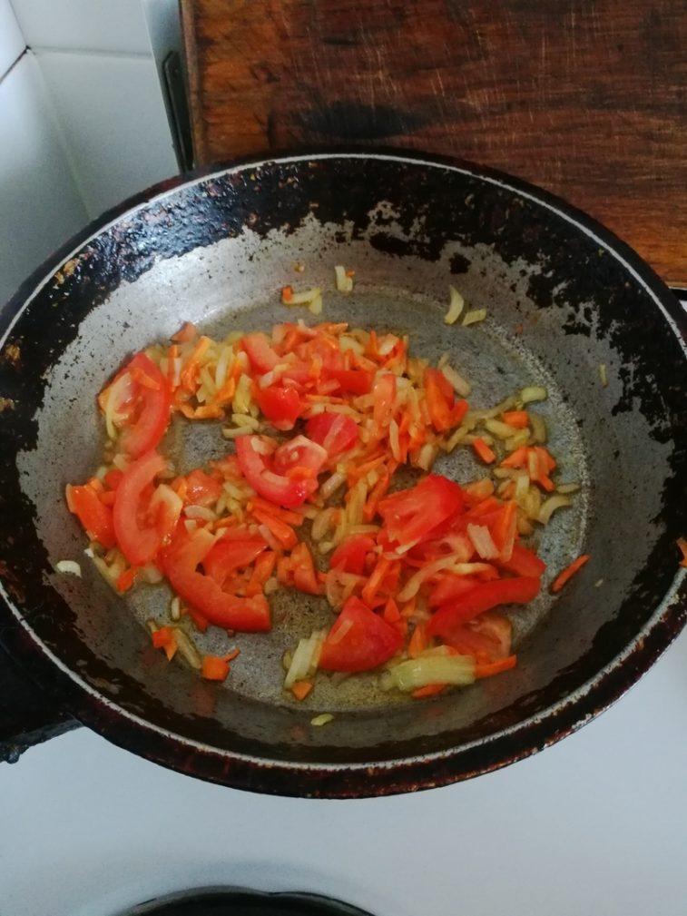 Фото рецепта - Сердечки с макаронами - шаг 4
