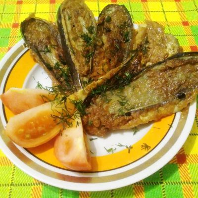 Баклажаны в кляре - рецепт с фото