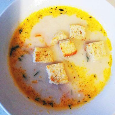 Сырные щи - рецепт с фото
