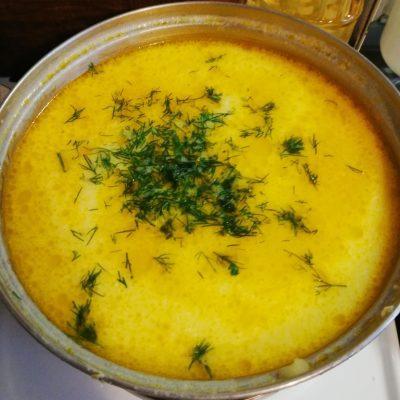 Фото рецепта - Сырные щи - шаг 10