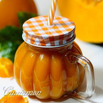 Тыквенный сок с апельсином - рецепт с фото