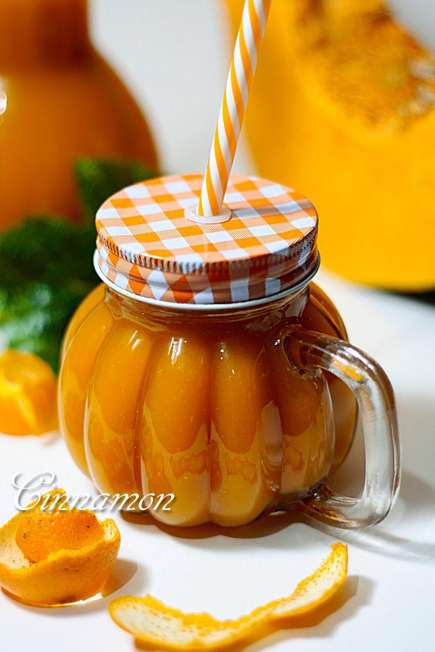 Тыквенный сок с апельсином