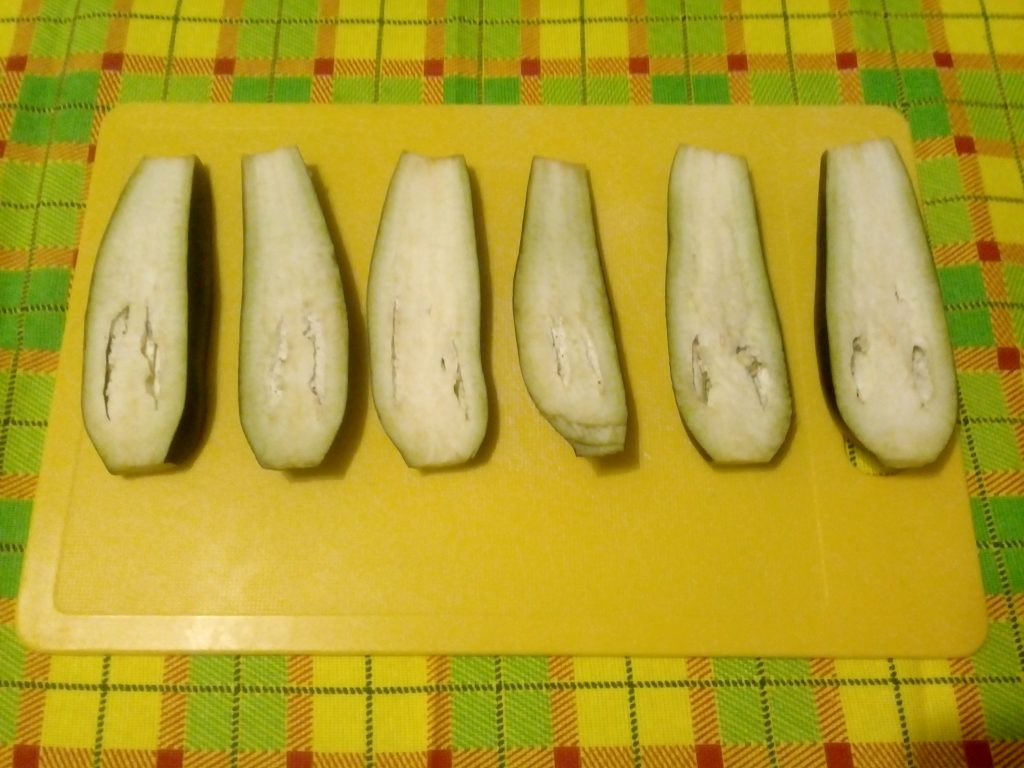 Фото рецепта - Баклажаны в кляре - шаг 2