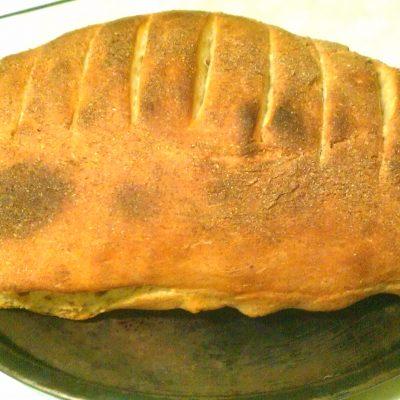 Хлебец с отрубями и овсяными хлопьями на дрожжевом тесте - рецепт с фото