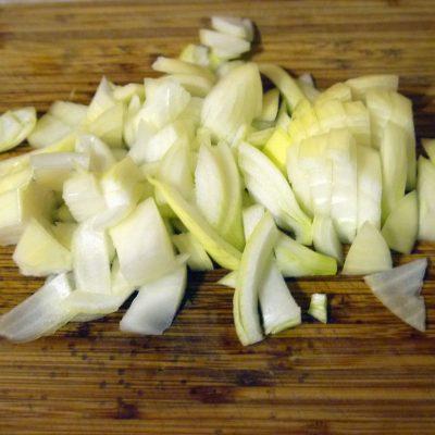Фото рецепта - Курица с яблоками - шаг 2