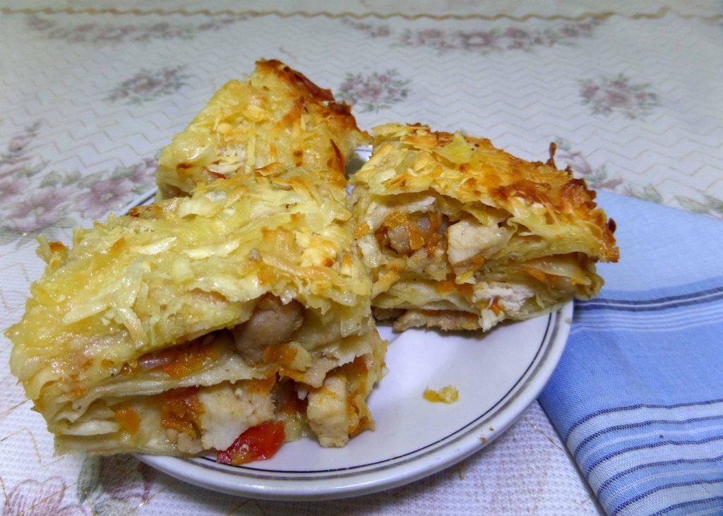 Фото рецепта - Курица в лаваше - шаг 13