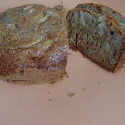 Фото рецепта - Яблочный кекс - шаг 7