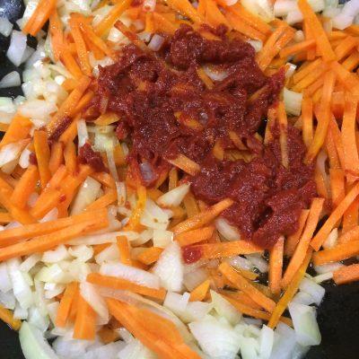 Фото рецепта - Быстрый суп Харчо - шаг 2