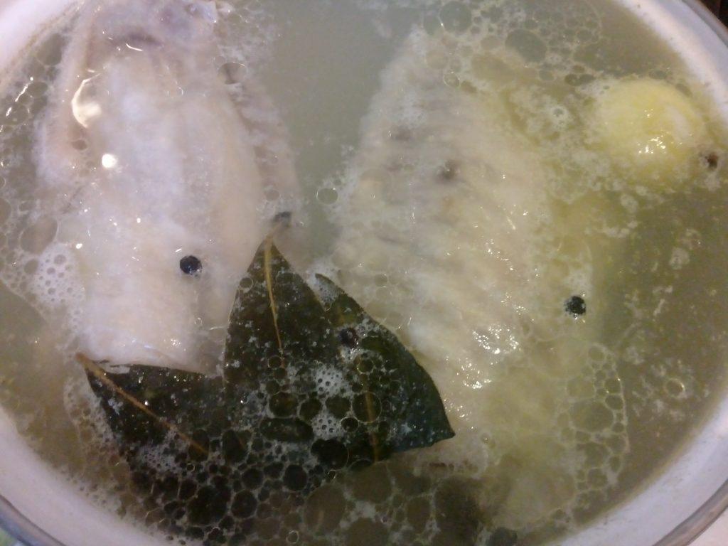 Фото рецепта - Рассольник на бульоне из индейки - шаг 3