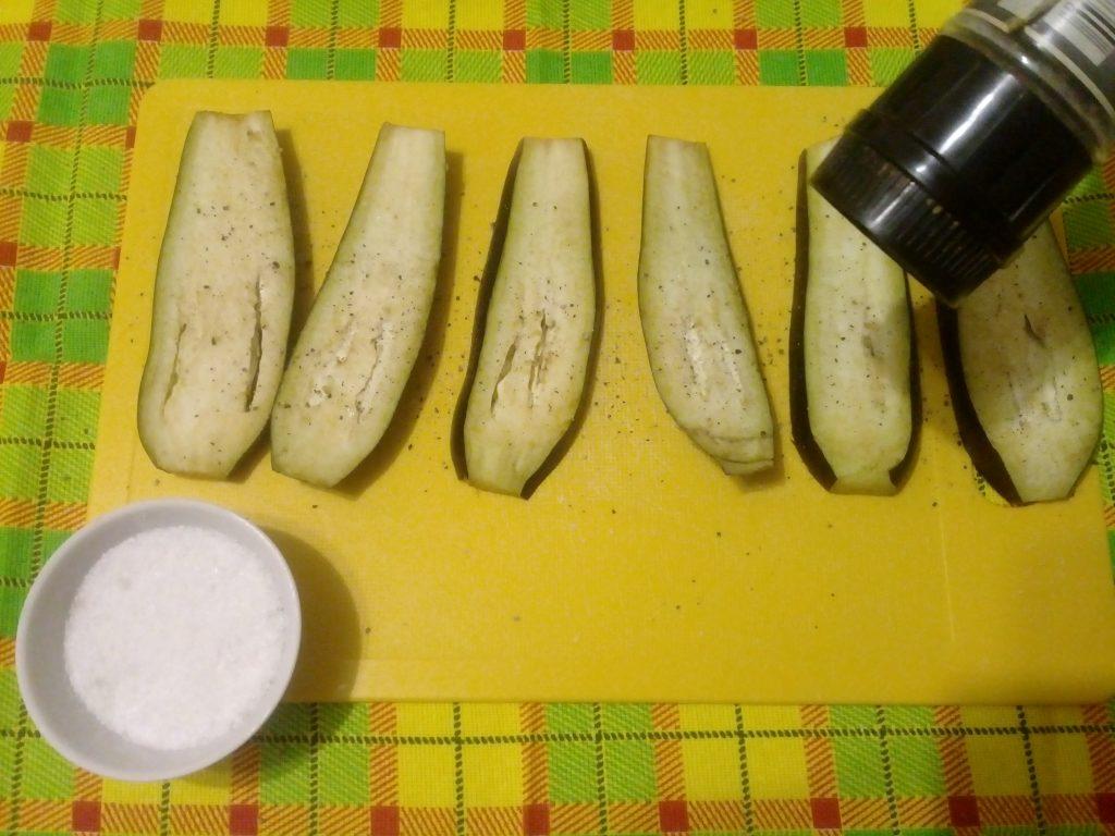 Фото рецепта - Баклажаны в кляре - шаг 3