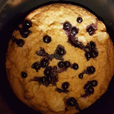Фото рецепта - Диетический пирог на овсяной муке с яблоками, в мультиварке - шаг 10