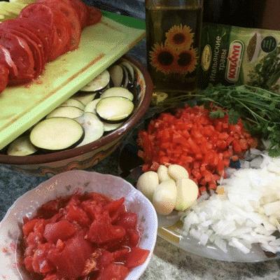 Фото рецепта - Низкокалорийный рататуй - шаг 1