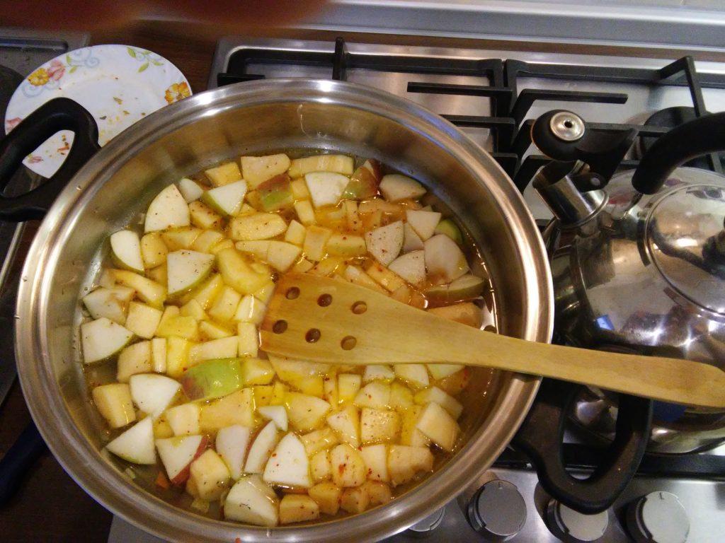 Фото рецепта - Постный суп-пюре из тыквы - шаг 6