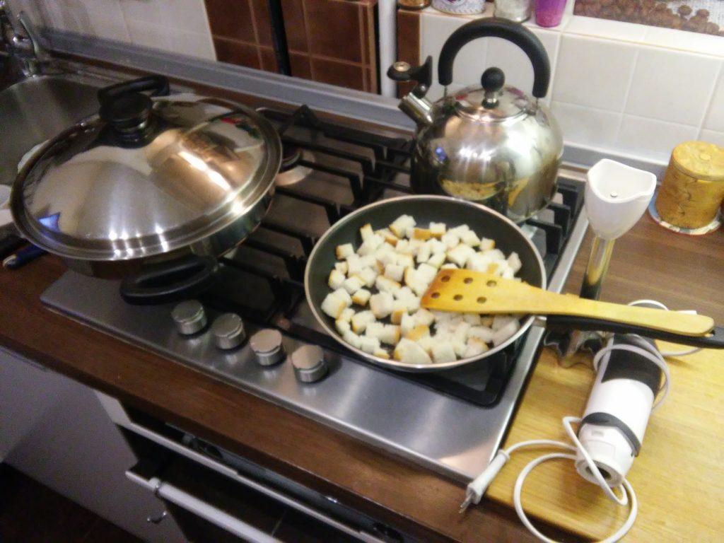 Фото рецепта - Постный суп-пюре из тыквы - шаг 8