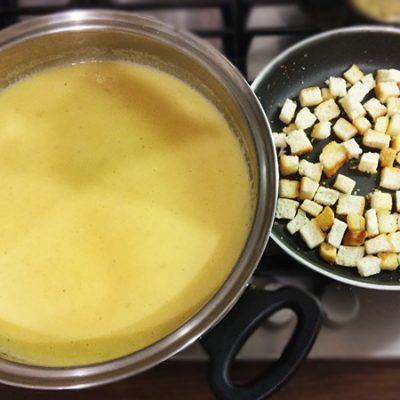 Постный суп-пюре из тыквы - рецепт с фото