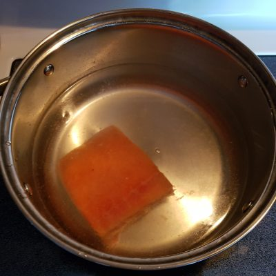 Фото рецепта - Крем-суп из лосося - шаг 1