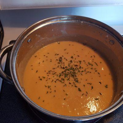 Фото рецепта - Крем-суп из лосося - шаг 5