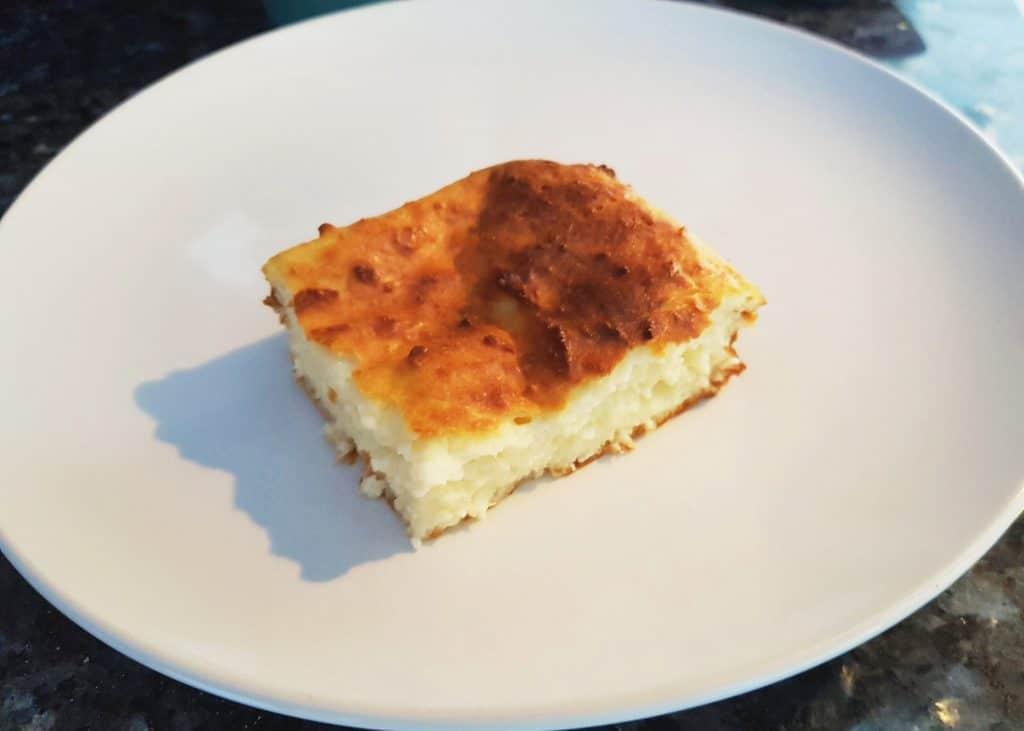 Фото рецепта - Творожная запеканка в духовке - шаг 4