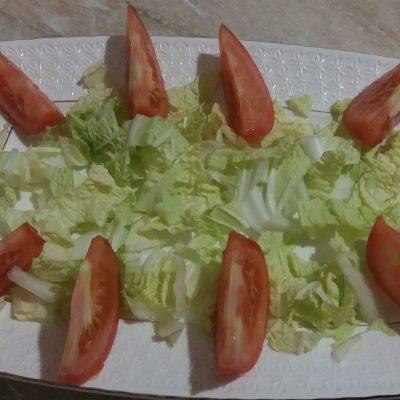 Фото рецепта - Простой салат Цезарь с курицей - шаг 2