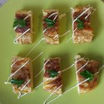 Фото рецепта - Яичный рулет с сыром - шаг 6