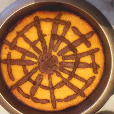 """Тыквенный пирог """"Паучьи сети"""" (рецепт на Хеллоуин) - рецепт с фото"""