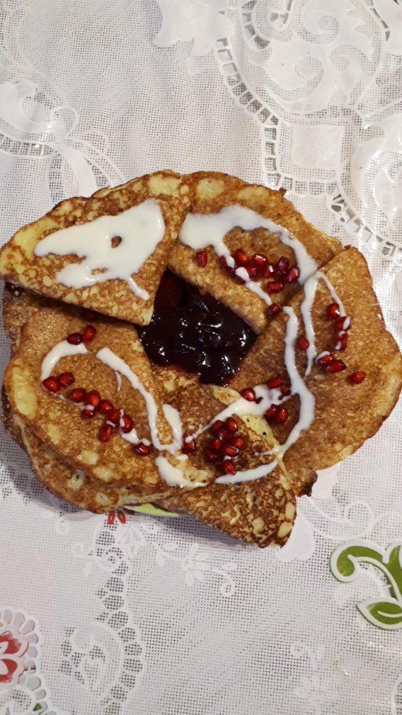 Фото рецепта - Бабушкины дрожжевые блины на пшенном кулеше - шаг 6