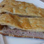 Фото рецепта - Мясной пирог из слоеного теста с фаршем индейки - шаг 5