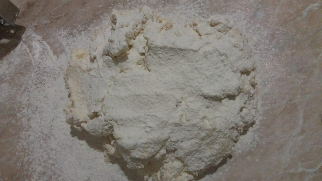 Фото рецепта - Тесто для ленивых вареников с творогом - шаг 3