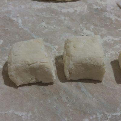 Фото рецепта - Тесто для ленивых вареников с творогом - шаг 4