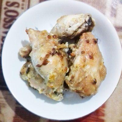 Запеченные куриные окорока в духовке - рецепт с фото