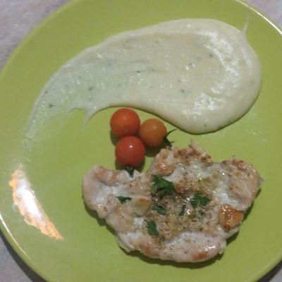 Фото рецепта - Гарнир – воздушное картофельное пюре без комочков - шаг 4