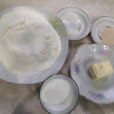 Фото рецепта - Мясной пирог с сыром и фаршем - шаг 1