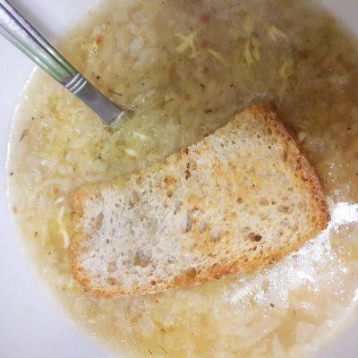Французский луковый суп - рецепт с фото