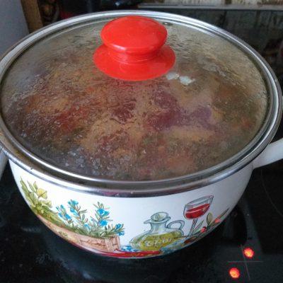 Фото рецепта - Борщ со свининой на косточке - шаг 5