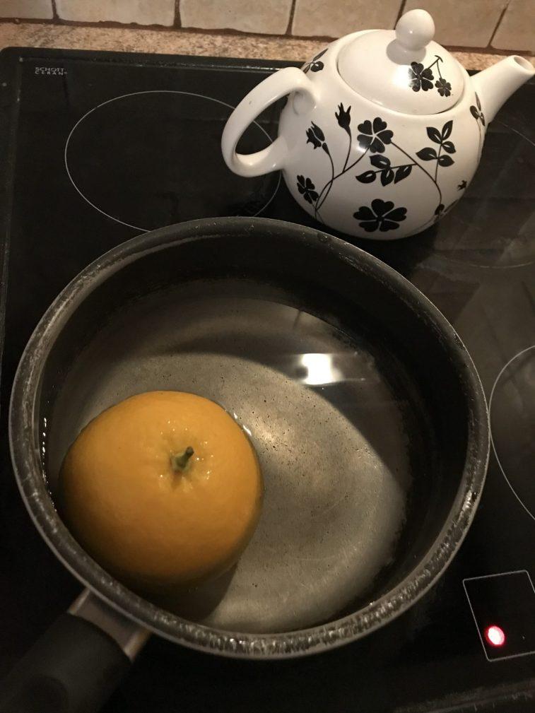 Фото рецепта - Апельсиновый кекс - шаг 1