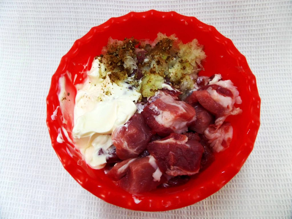Фото рецепта - Шашлык из корейки - шаг 5