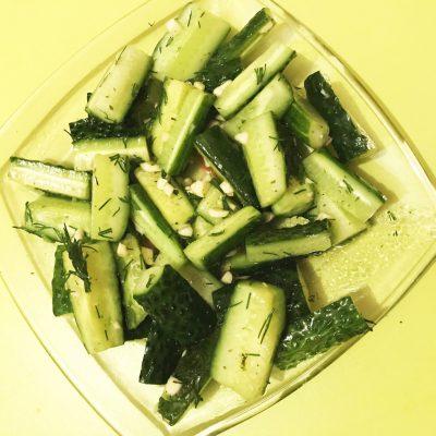 Вкусные огурчики - рецепт с фото