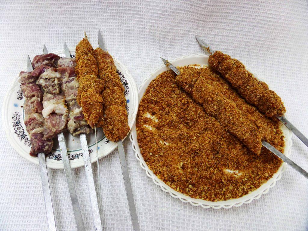 Фото рецепта - Шашлык из корейки - шаг 6