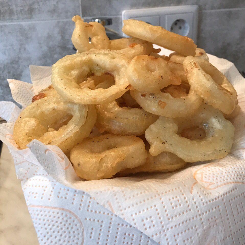 Фото рецепта - Луковые кольца в пивном кляре - шаг 5
