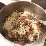 Рис с тушёнкой