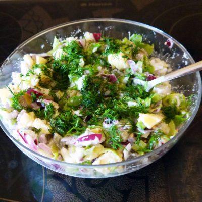 Картофельный салат «Свежесть» - рецепт с фото