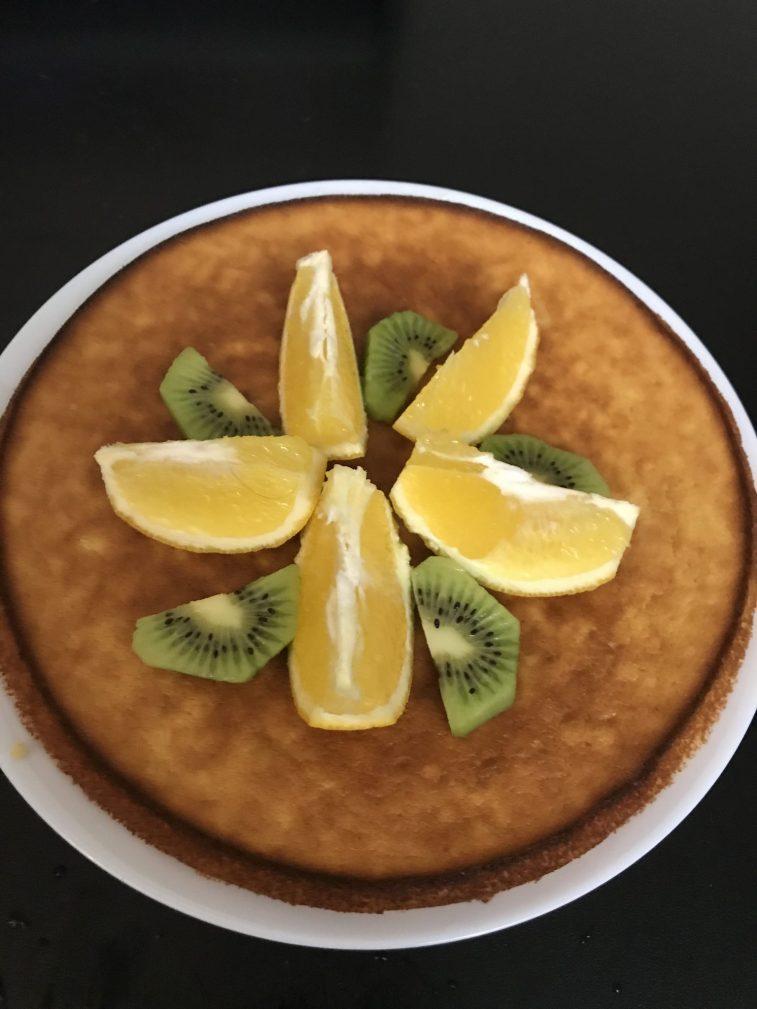 Фото рецепта - Апельсиновый кекс - шаг 6