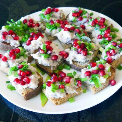 Форшмак из селедки - рецепт с фото