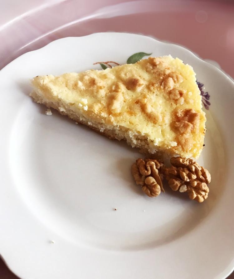 Фото рецепта - Открытый пирог с творогом - шаг 7