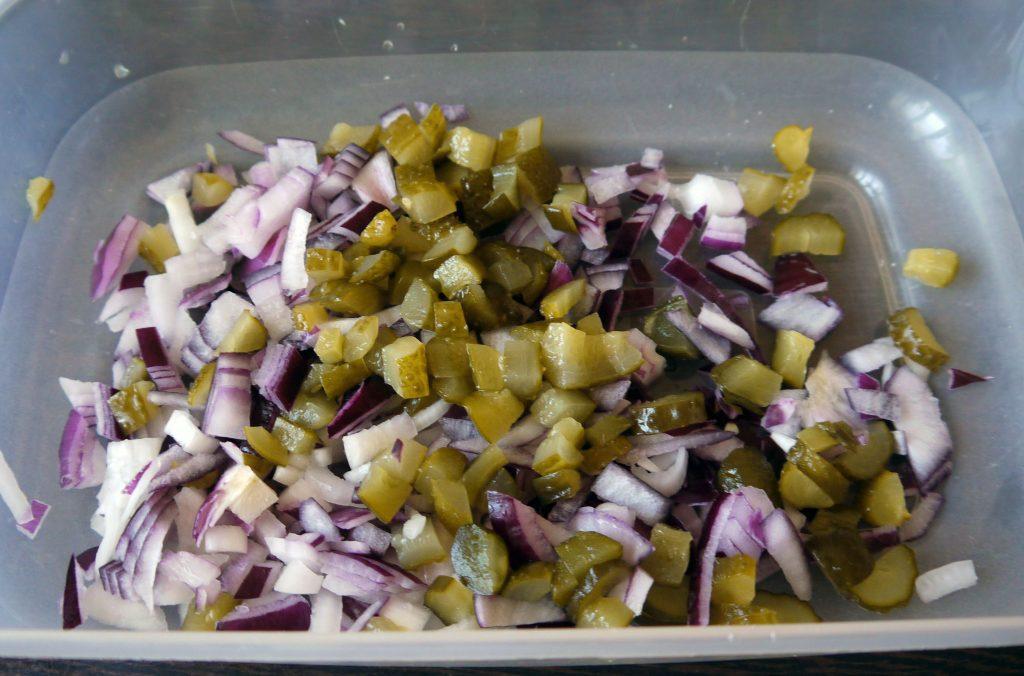 Фото рецепта - Картофельный салат «Свежесть» - шаг 1