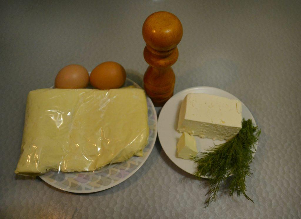 Фото рецепта - Хачапури с сыром - шаг 1