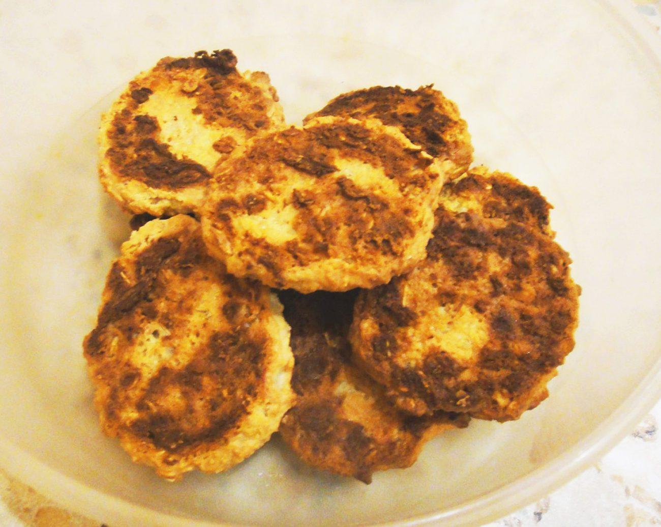 Овсяно-творожное печенье