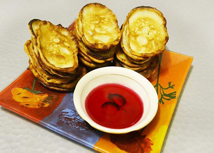 Вкусные оладьи на кефире