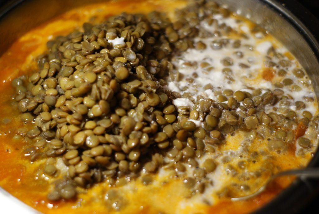 Фото рецепта - Дал – индийский пряный суп-пюре - шаг 6