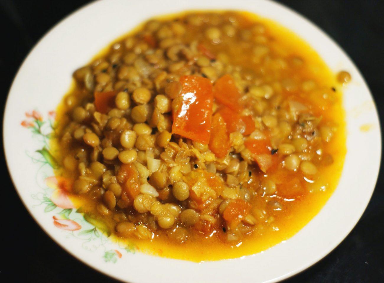 Дал – индийский пряный суп-пюре
